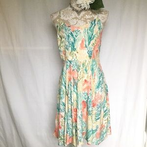 Old navy / The Cami Dress In Oceanic Print Med NWT